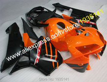 Hot Sales,For Honda CBR600RRF5 2005 2006 F5 CBR 600RR 05-06 Orange Black Motorcycle Motorbike ABS Fairings (Injection molding) - Professional Fairing store