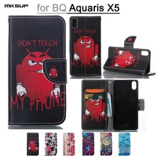 Buy BQ Aquaris X5 Leather Case Pattern Printed Wallet Case BQ Aquaris X5 Stand Soft Flip Cover Phone Shell Card Holder for $4.09 in AliExpress store