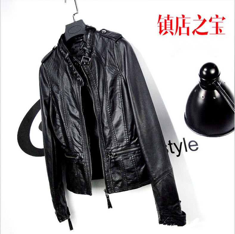 Online Buy Wholesale ladies 5xl faux leather jackets from China