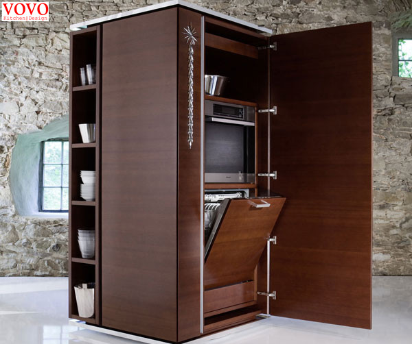 Melamine kitchen cupboard(China (Mainland))