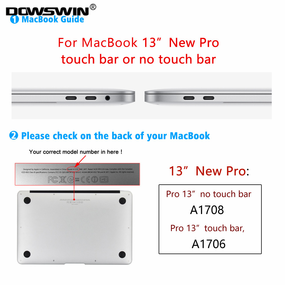 13 new Pro touch bar