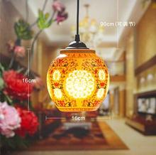 Antique Retro Ceramic Lamp Vintage Lamp Loft E27 90-260V Porcelain Pendant Lamp Indoor Lighting Dining Lighting Fixtures(China (Mainland))