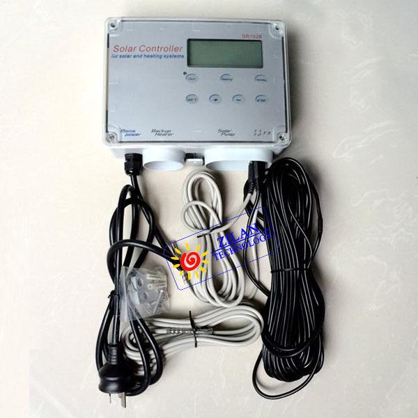 SR1028 solar controller 110~240V for split pressurized system,solar water heating system controller,new functions SR1028(China (Mainland))