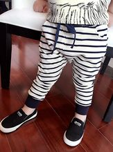 Free shipping 2015 spring autumn children's clothing boys casual long pants cotton kids trousers 5pcs/lot in stock(China (Mainland))