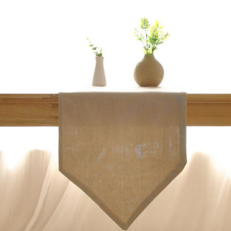 Aliexpresscom Buy Simple Solid Linen Rustic Home Decor