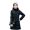 2016 New Style Winter Women Down Jacket Warm Thick Cotton padded Coat Casual Outwear Female Hooded