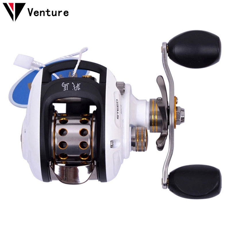 Venture HAIBO STEED 8+1BB 6.5:1 Baitcasting Fishing Reel Left/Right Hand Centrifugal Brakes System Free Shpping(China (Mainland))