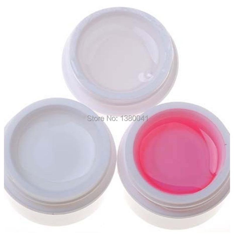 3pcs/set 3 Colors Professional Nail Art Tips Salon Tools UV Builder Gel(China (Mainland))
