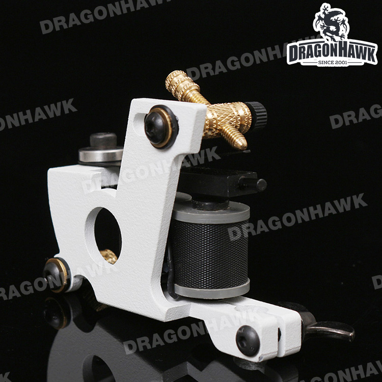 Professional Handmade Tattoo Machine White Color Shader Machine(China (Mainland))