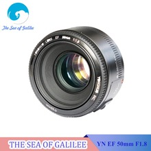 In Stock! YONGNUO YN 50mm F1.8 Lens Large Aperture Auto Focus Lens 50mm/f1.8 for Canon EOS DSLR Cameras(China (Mainland))