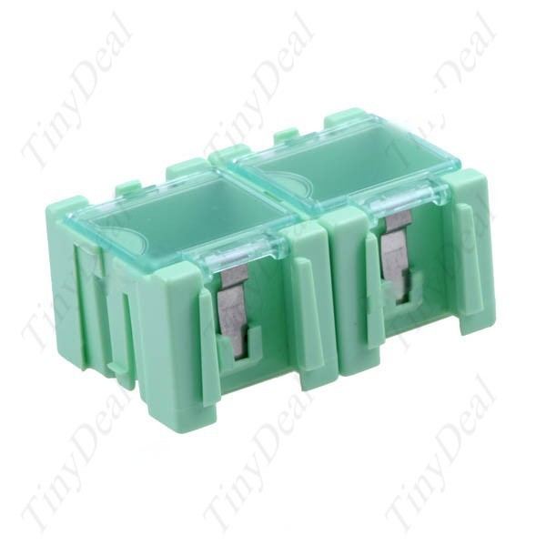 Lazydog 2-pack Detachable Electronic Components Storage Containers Boxes 25 x 32 x 22mm Per Each MTL-11504(China (Mainland))