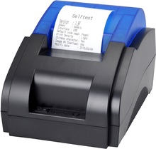 Free shipping high quality 90mm/s USB port thermal receipt printer Pos printer low noise thermal printer(China (Mainland))