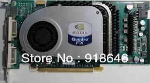 Really Original Nvidia Graphics card Quadro FX3400 workstation professitional Graphics card Free Shipping(China (Mainland))