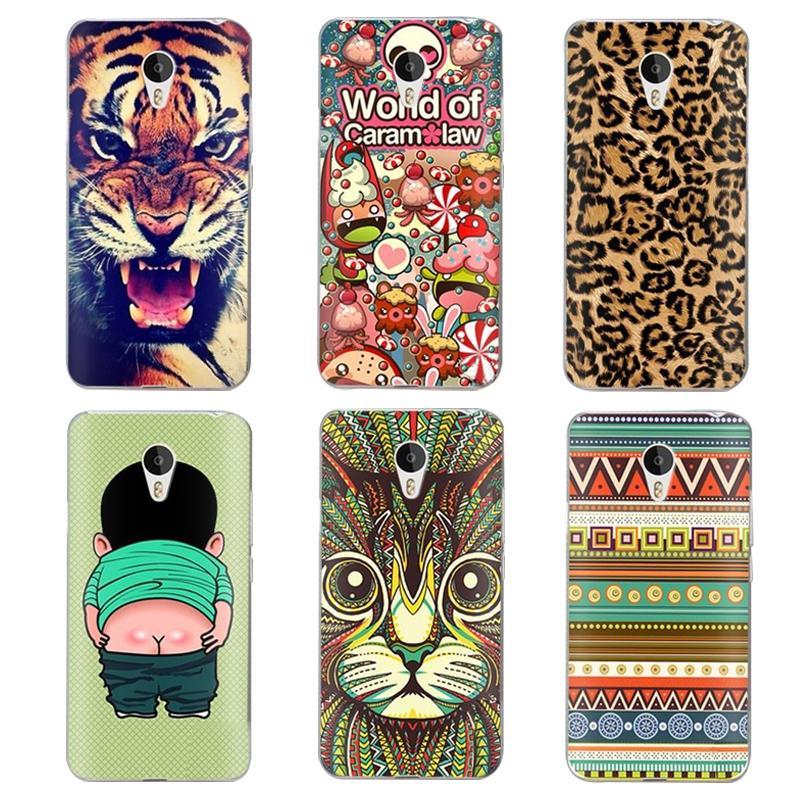 Гаджет  Case For meizu m2 mini 5.0 incg Colorful Printing Drawing Plastic Hard Cover for meizu m2 5.0 inch Transparent Phone Shell Hot None Телефоны и Телекоммуникации
