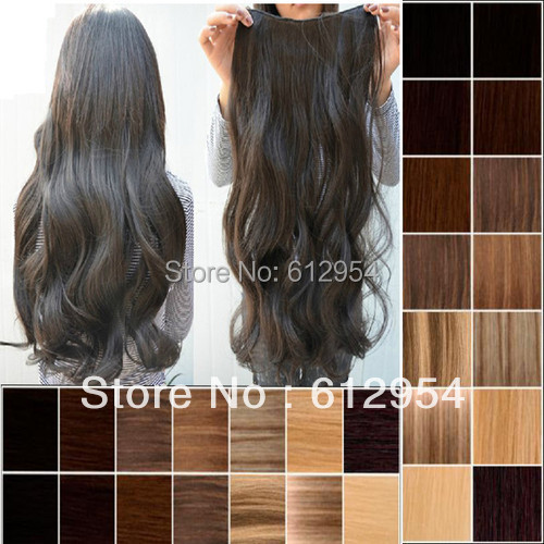 One Piece New Long Synthetic Clip In Hair Extensions Extent Styling Stylish Queens Fashion