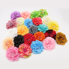 Fashion Hair flower Hair Accessories Fabric Flower Hair Clip Flower Corsage Brooch Pins Women Flower Headwear Wedding Party Gift(China (Mainland))
