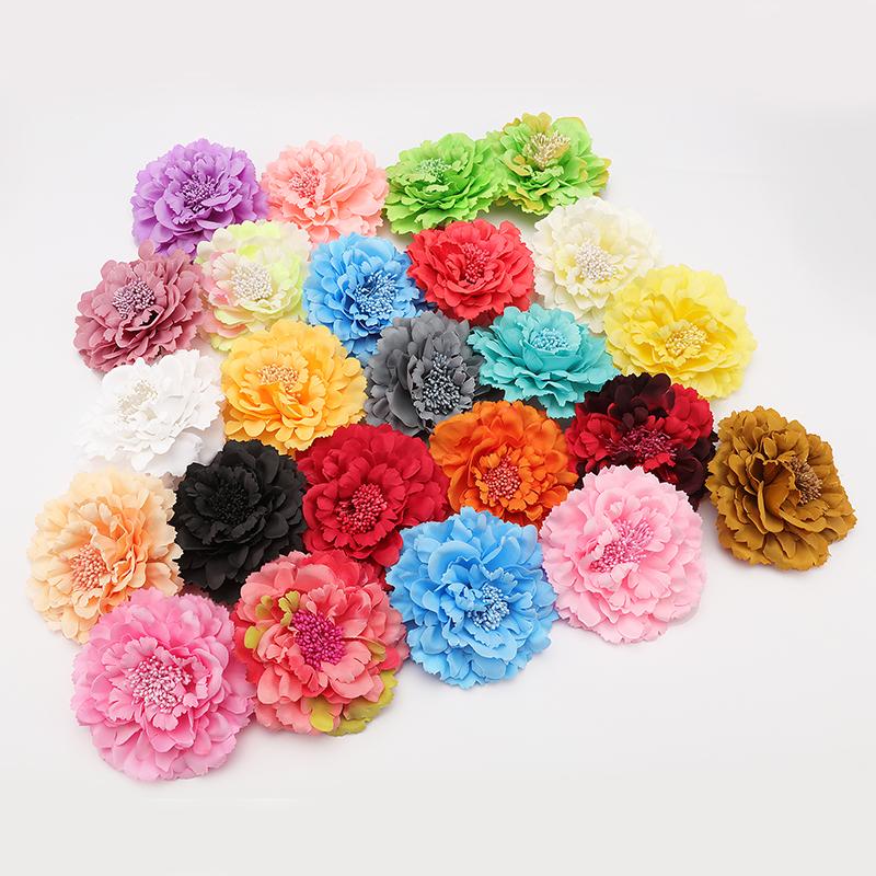 Fashion Hair flower Hair Accessories Fabric Flower Hair Clip Flower Corsage Brooch Pins Women Flower Headwear Wedding Party Gift(China (Mainland))