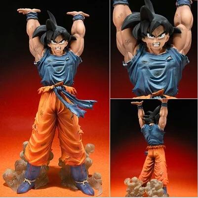 Dragon Ball Z Action Figures Bandai Zero Battle Version Son Goku PVC Figure Dragonball Z Figures 15CM Collectible Model Toy Goku(China (Mainland))