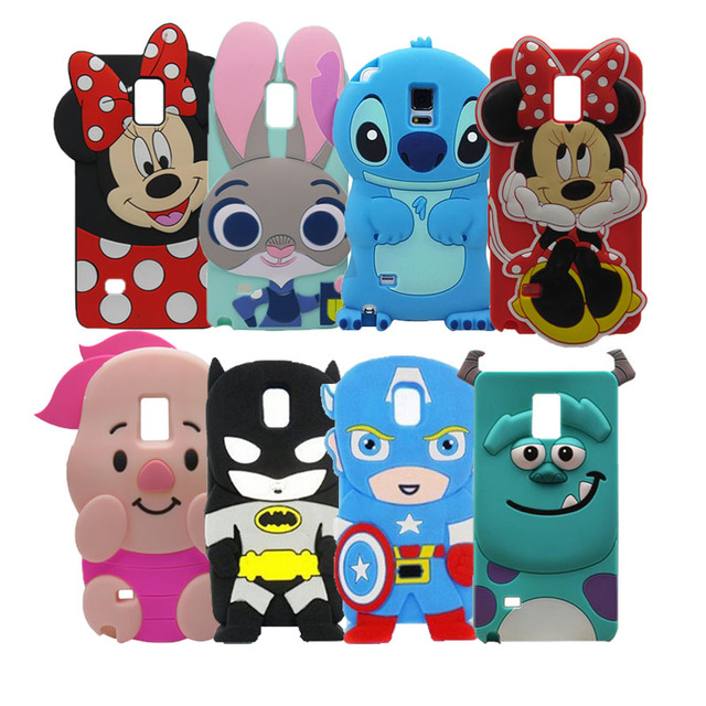New Fashion 3D Cartoon Sit Minnie Mouse Soft Silicone Cover Case For ...