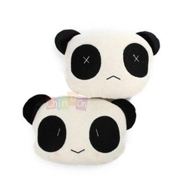 1 шт. милая форма панда автокресло глава шея отдых подушка подушка Pad подголовник крышки