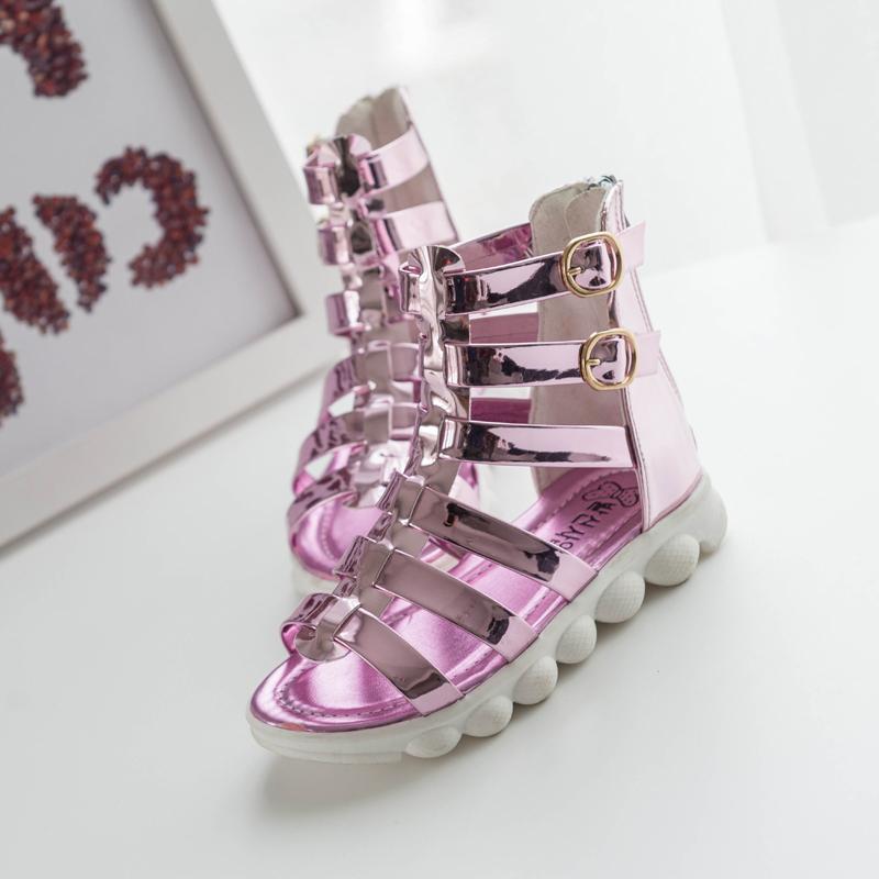 summer children s sandals Princess font b shoes b font girls Roman font b shoes b