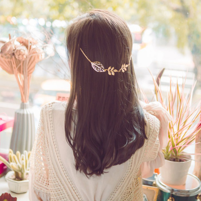 Hollow Tree Leaf Branch Hair Claws Head Jewelry Hair Pin Gold Clip For Hair Tiara Accessories Headdress For Girl Women(China (Mainland))