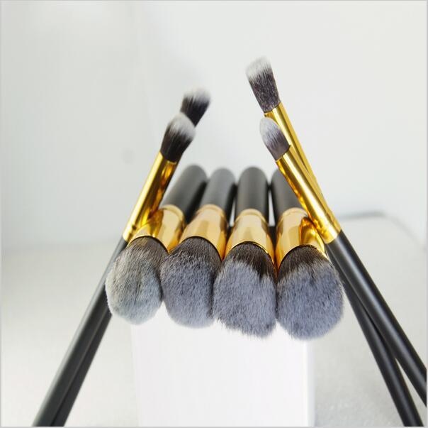 Professional 8Pcs Makeup Brushes For Mac Cosmetic Make Up Brush Set Women's Toiletry Kit Paintbrushes of Kabuki Brushes Tools(China (Mainland))