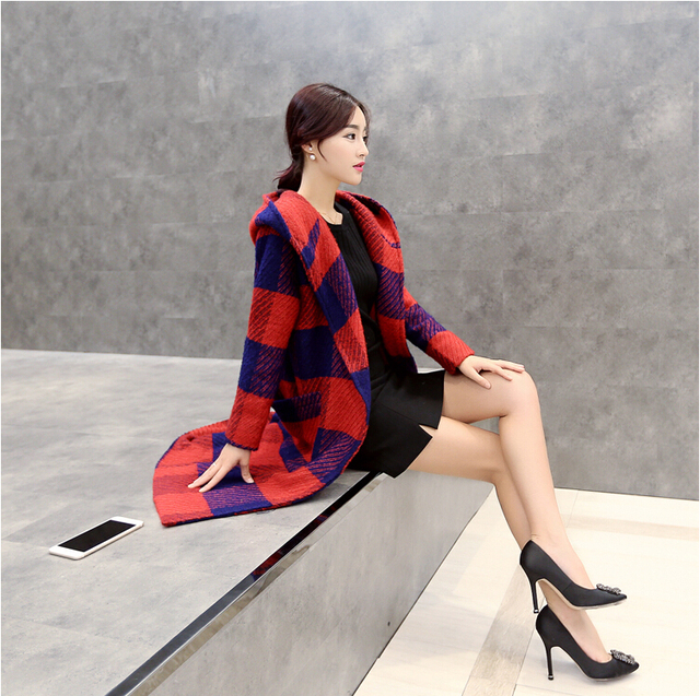Real Photo High Quality Designer brand burb women british woolen cloth buckle double breasted womens trench coat trench coats