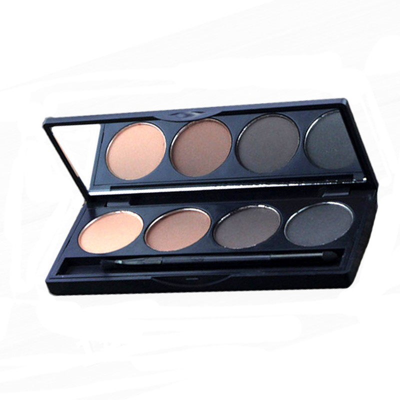 3PCS Earth Color Matte Pigment Eyeshadow Palette Cosmetic Glitter Eye Shadow Brow For Women Smoky Makeup Palettes Eyebrow Cheap(China (Mainland))