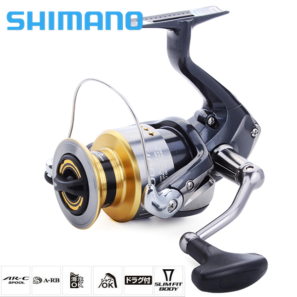 New 2015 SHIMANO Brand SEDONA 1000-5000FE M-compact XGT-7 body 3+1BB Front Drag Spinning Fishing Reel Saltwater Freshwater Wheel(China (Mainland))