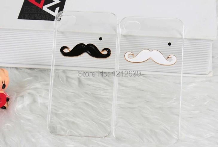 Beard Transparent soft Gel Case Cover For RIM BlackBerry Q5/Q10 wholesale(China (Mainland))