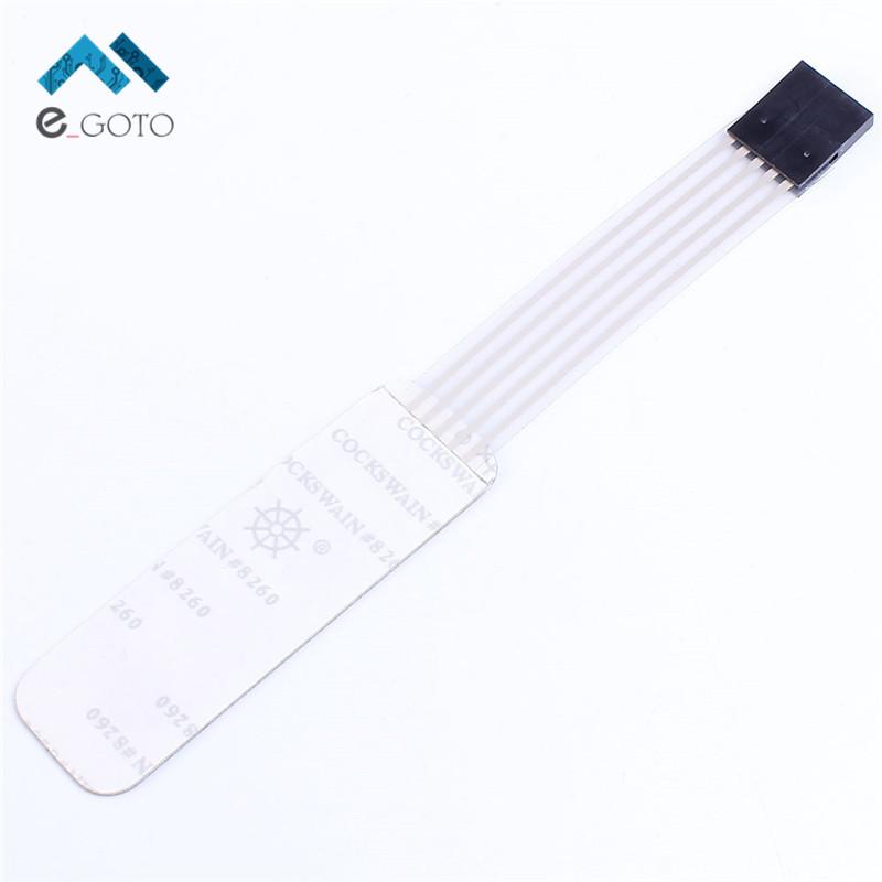 mini 4 key 1x4 matrix array membrane switch keypad keyboard 1 4 keys display switch control