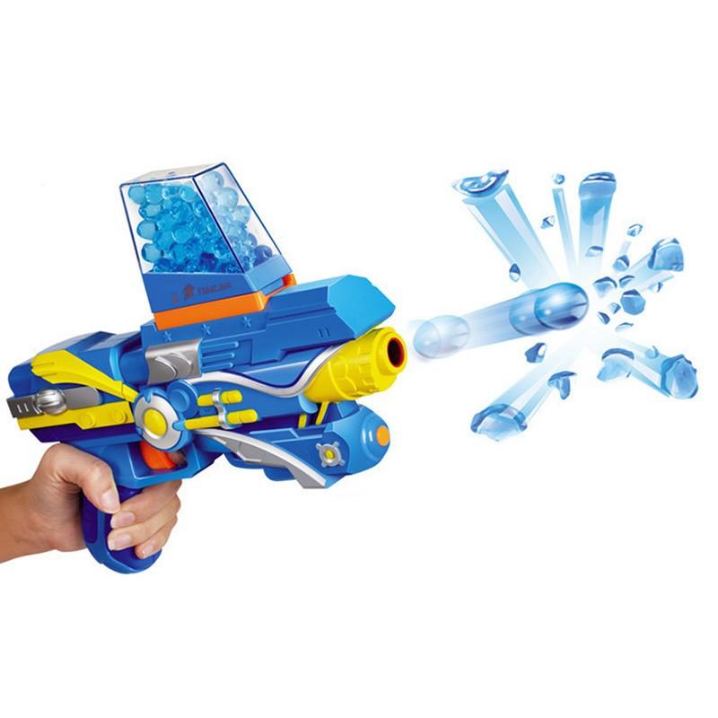 Water Crystal Gun With Paintball Bullets Children Kids ABS plastic + EVA + PAAS Paintball Gun Pistol Tender Bullet Gun Toy CS Recreation