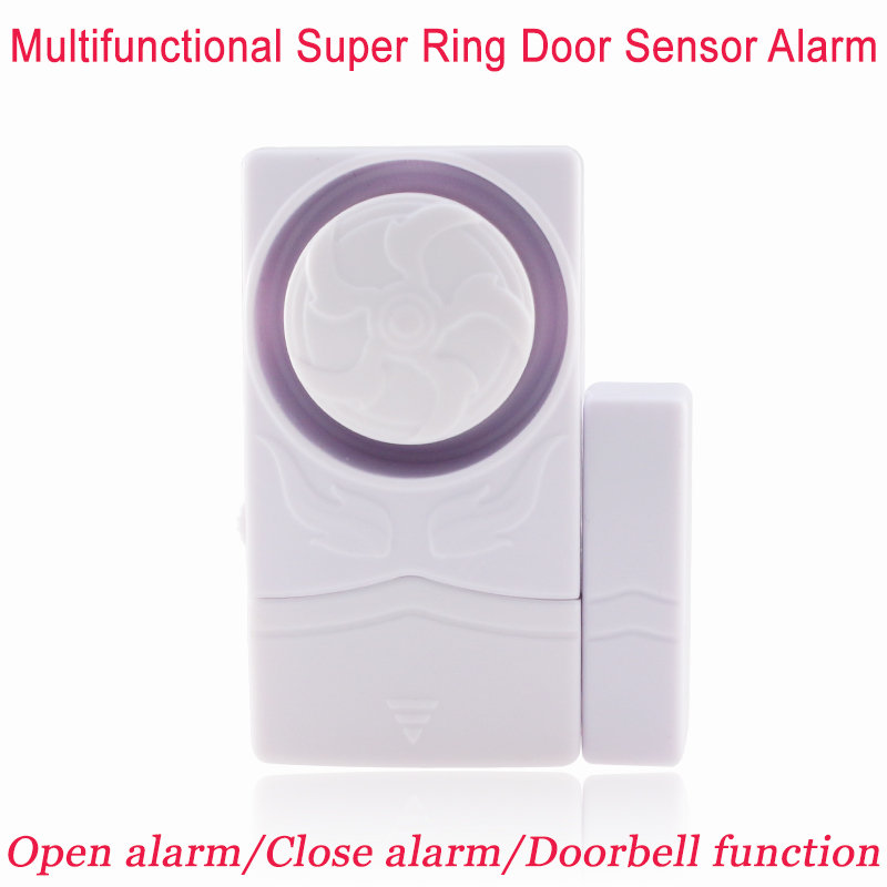 New Multi-functional Tiny Magnetic Door Sensor Alarm Home Window Security 110dB Alarm Doorbell Closing door Reminder(China (Mainland))