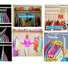 3X Space Saver Saving Wonder Magic Hanger Clothes Closet Organize Hook 2015 Hot sell(China (Mainland))