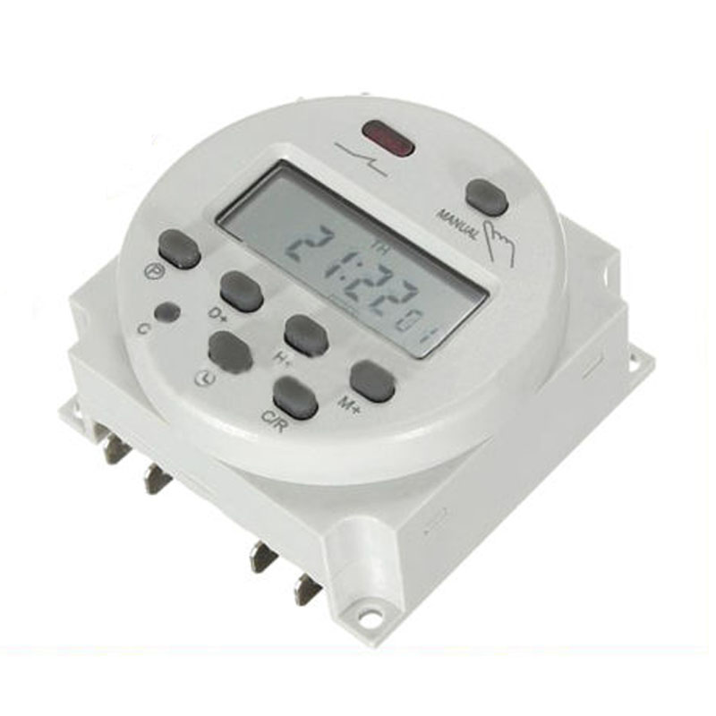 GSFY-New LCD Digital Control Power Programmable Timer DC 12V 16A Time Relay Switch(China (Mainland))