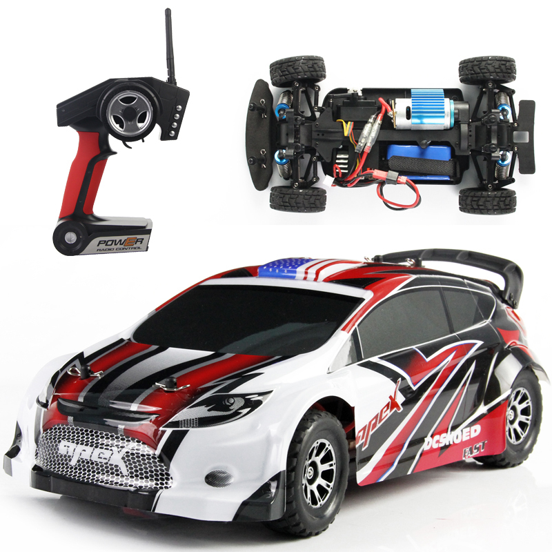 Wltoys A949 RC Monster Truck 1:18 2.4G Remote Control Car 4WD off road rc drift car 45KM/H High Speed Racing Electronic toys(China (Mainland))