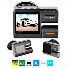 New 2.0 Inch Full HD 720P Dash DVR Car Video Camera Recorder  i1000 Crash Camcorder G-sensor CQC29(China (Mainland))