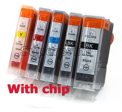 10 ink cartridges for Canon MP500/MP510/MP520/MP530/MP600/iP4200/iP3300/iP3500/iP4300/iP4500/iP5200/iP5300 PGI-5BK 5 PGI5/CLI-8