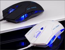 Azzor Gymenma полюс USB 6d-кнопочная 2400 точек/дюйм проводная оптическая компьютерная игровая мышь для портативных пк с розничной коробке