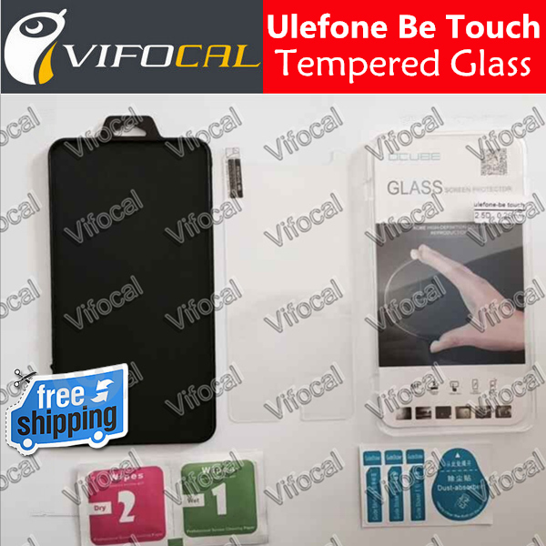 Ulefone Be Touch 2 tempered glass 100% Original High Quality Screen Protector Film Accessory For be touch 2 Cell Phone(China (Mainland))