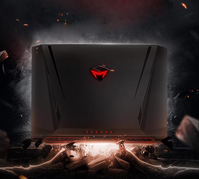 Machenike T58-D1 Laptop 15.6″ 1080P Gaming Notebook Intel Core i7-7700HQ Quad Core GTX1050 8GB RAM 1TB HDD RGB Backlit Keyboard