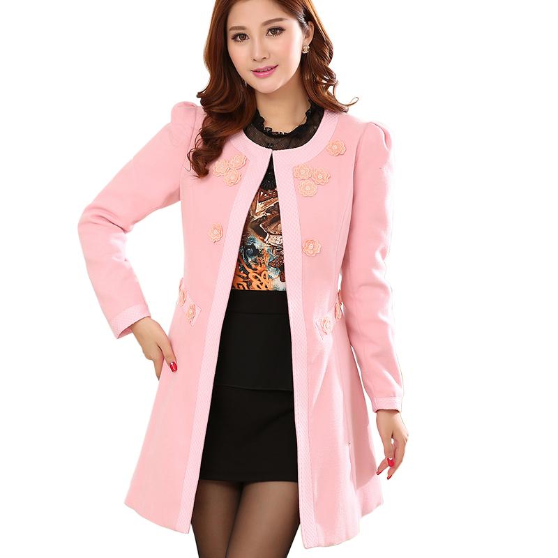 Images of Ladies Pink Winter Coats - Reikian