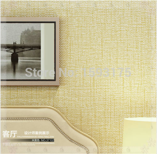 53SF 10M Roll Modern Simple Style Dot Line Flax Texture Embossed Coffe/ Gray Wallpaper electric mixer(China (Mainland))