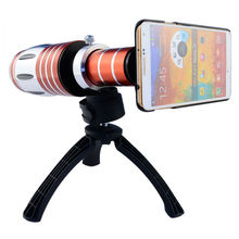 Buy 1 Pcs 50X Zoom Telescope Len Tripod Telephoto Optical Mobile Phone Camera iPhone 5S 6 7 Samsung Galaxy S6 Metal Aluminum for $157.00 in AliExpress store