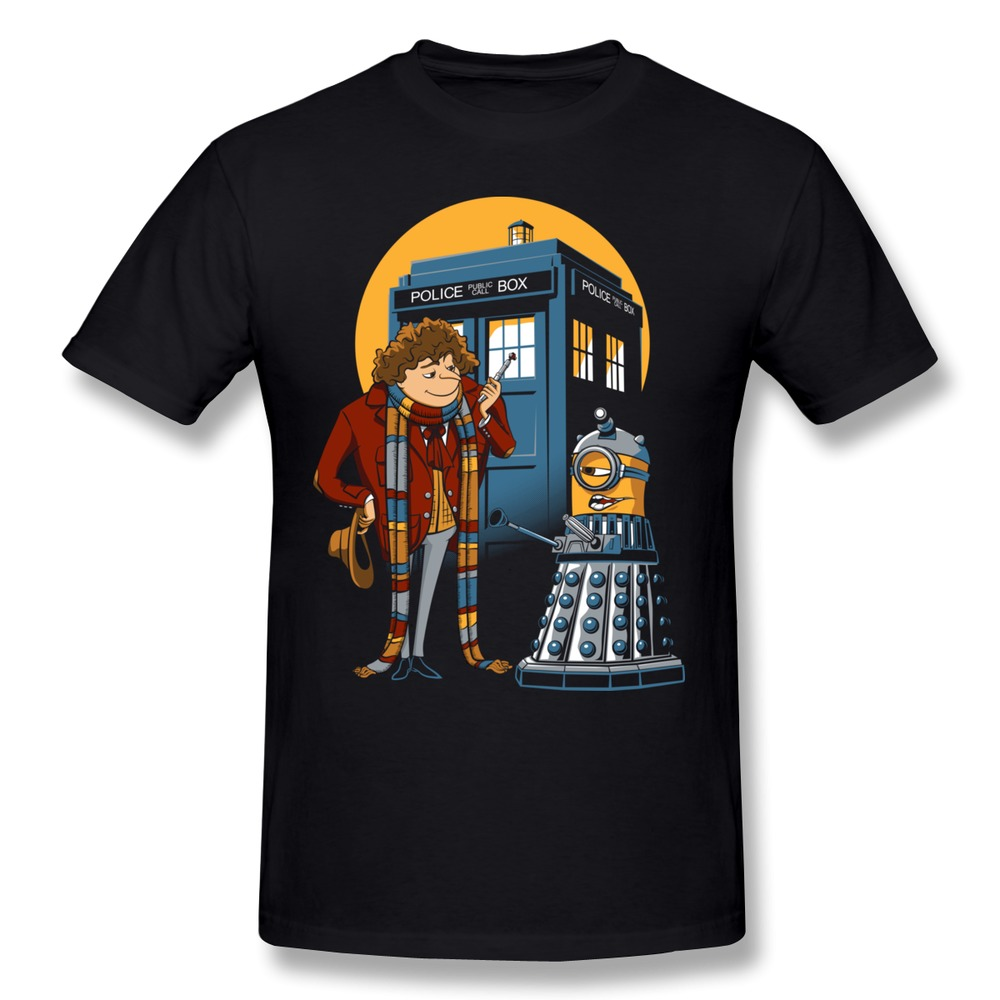 Dropshipping Pre Cotton Men 39 S T Shirt Doctor Gru Customize