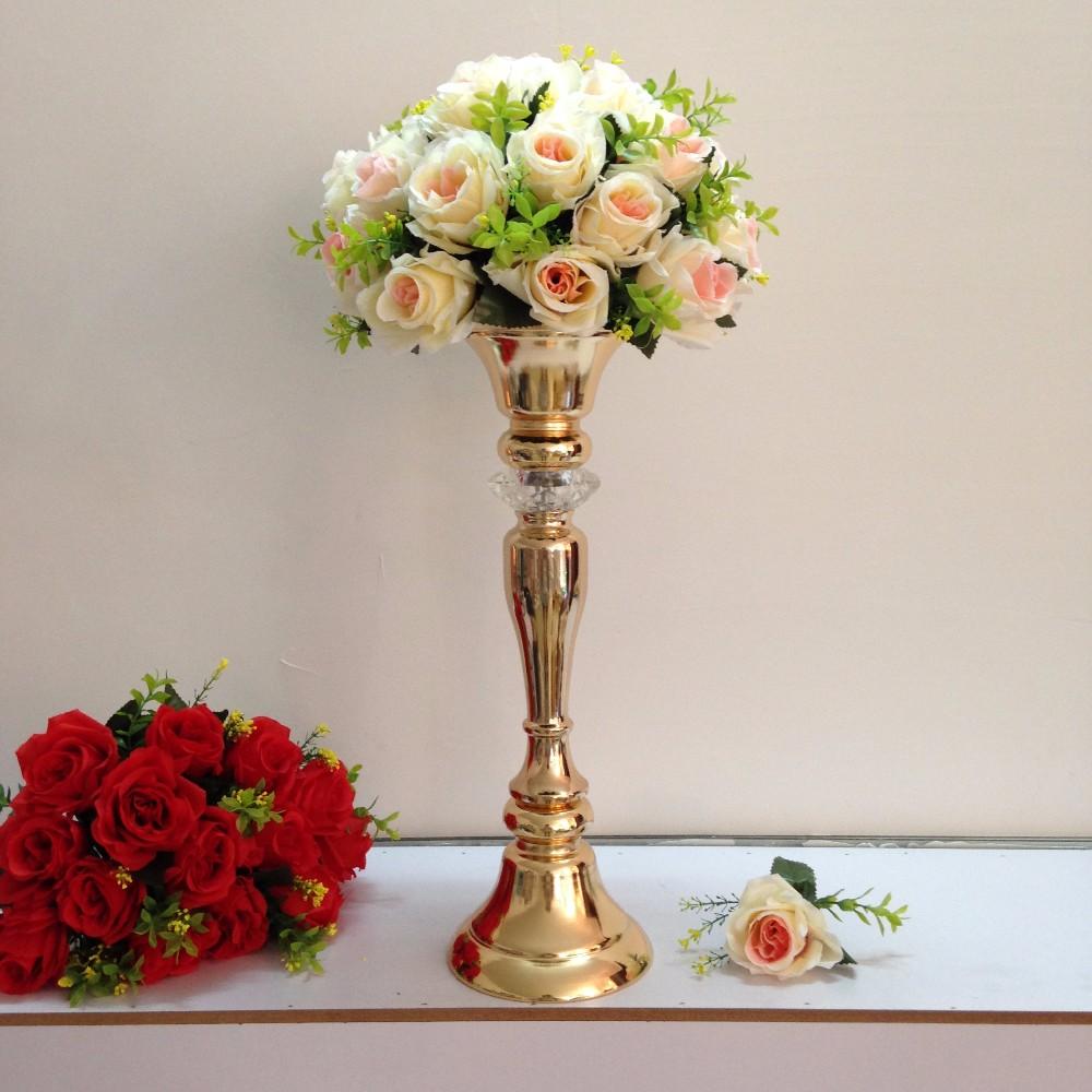 Gold wedding flower vase weddirect discount wedding dresses gold wedding flower vase weddirect discount wedding dresses supplies from china izmirmasajfo