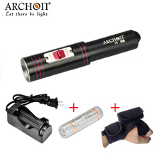 Buy ARCHON D10S Strong Light 860 lm CREE XM-L U2 LED Light Flashlight Dving Light Searchlight Archon 18650 battery Charger for $69.00 in AliExpress store
