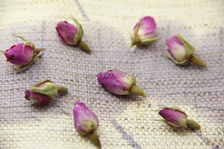 1kg Organic Pink Rose Bud Dried Flower Herbal Tea