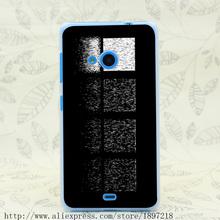 3913T Rainy Windows Hard Transparent Cover Case for Nokia 535 630 640 640XL 730(China (Mainland))